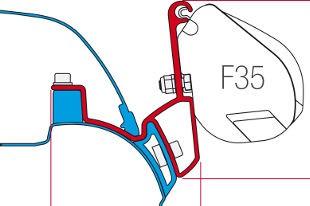 F35 Pro Awning Adapters