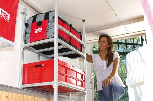 Fiamma Garage System - Shelves