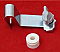 Eyelet bracket to fit Door pole to Fiamma F45 awnings