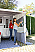 Fiamma Side W Pro Shade panel with inside roll up curtain