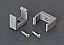 Rafter Wall Installation kit complete with screws
