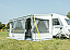 CS ZIP XL awning has increased extension for more living space