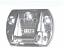 Upper bracket supplied as standard