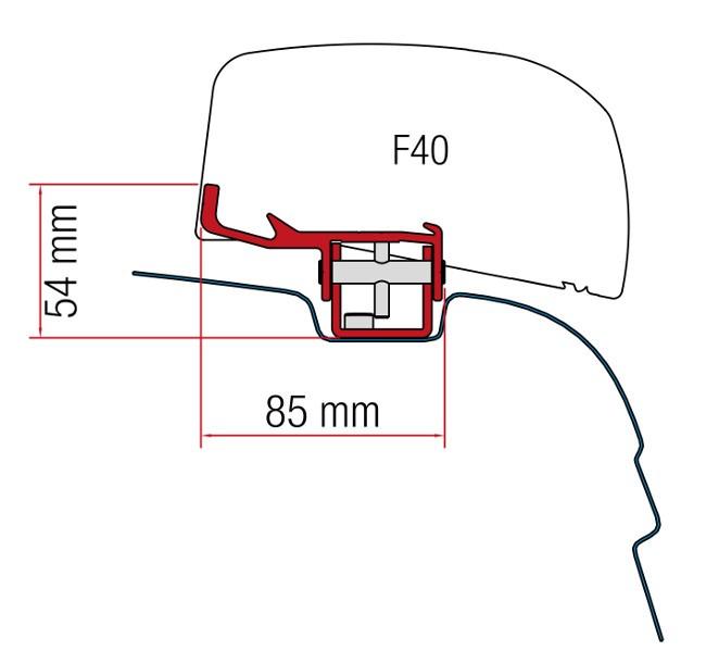 Fiamma Kit F40Van VWT5/T6