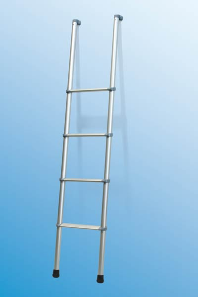 Fiamma ladder for motorhome with over cab bunk