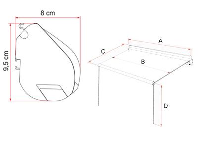 Fiamma F35 Pro dimensions