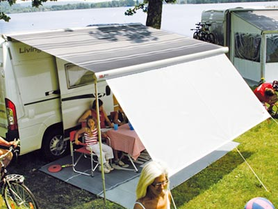 Fiamma F65 S with Fiamma Blocker