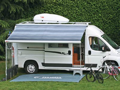 Optional side walls are available for your awning