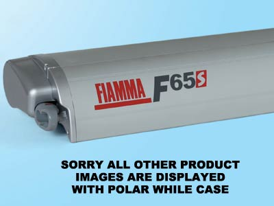 Titanium case for the Fiamma F65 S to match your motorhome colour scheme