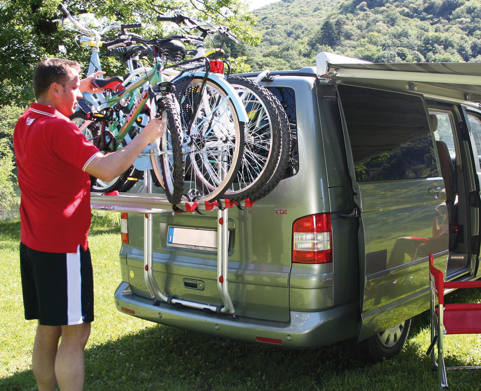 Fiamma Carry Bike Vw T5 Bike Rack For Vw Type 5 With Tailgate Rear Door