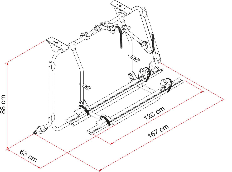Carry Bike T5 Pro dimensions