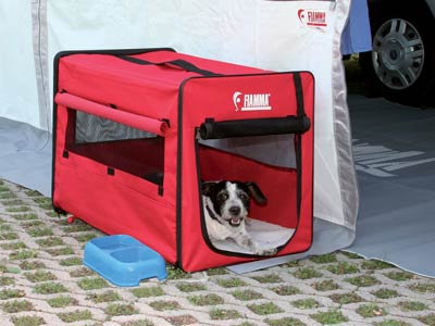 Strong, waterproof temporary home for your dog