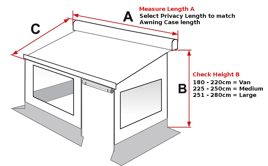 Measure Awning Height To Select Correct Size