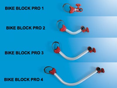 Bike Block Pro is available in 4 sizes