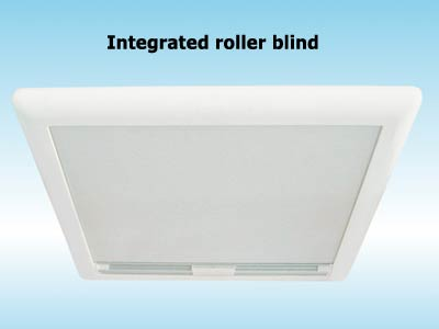 Integrated roller blind with Vent 50 x 50