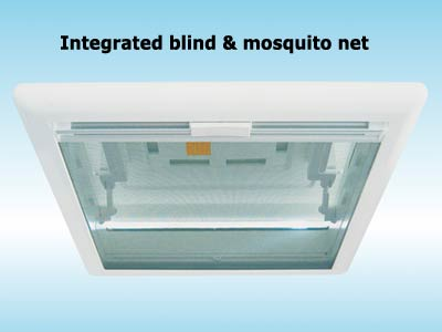 Mosquito net to keep out bug with Fiamma Vent 50x50