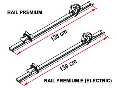 Fiamma Rail Premium Dimensions