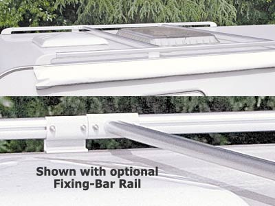 Optional fixing bar rail available