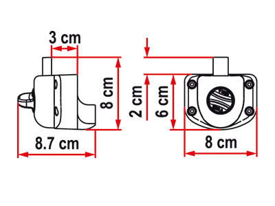 Fiamma Safe Door Gaurdian Sprinter Dimensions