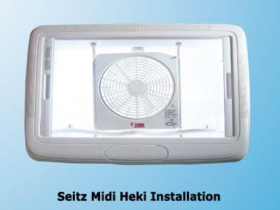 Modifiy Seitz Midi Heki with a powered Vent Fan