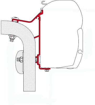 Fiamma Adapter Hymer Van / B2