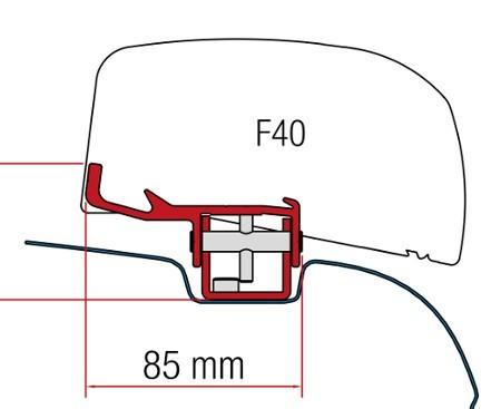 Fiamma Kit F40 Van VW T5 / T6 - LH