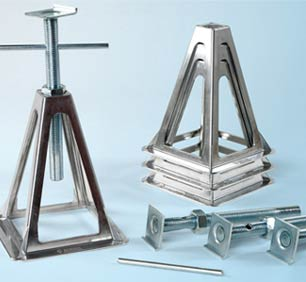 Fiamma Aluminium Jacks x4