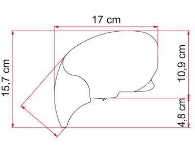 Fiamma F65L Awning - Motorhome Awning - Polar White Case