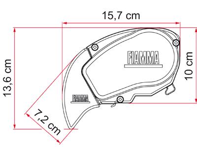 Fiamma F65 S Awning - Motorhome Awning - Black Case