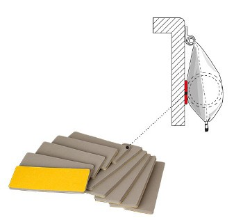 Fiamma Wall Protection Rafter Pad for Caravanstore - Single