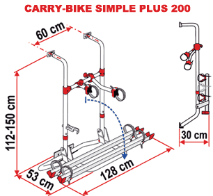 Carry-Bike Caravan Simple Plus