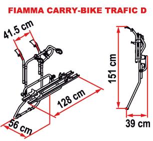 Fiamma Carry-Bike Trafic D