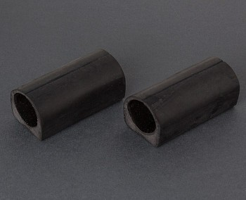 Fiamma Carry Bike Rubber Bar Protector - Pair