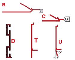 Fiamma  Adapters F45 S - F45 Ti L - Zip