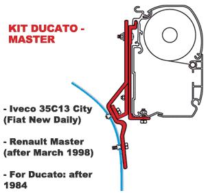 Fiamma Kit Ducato - Master AFT 03/98