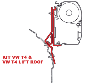 Fiamma Kit VW T4 - VW T4 Lift Roof