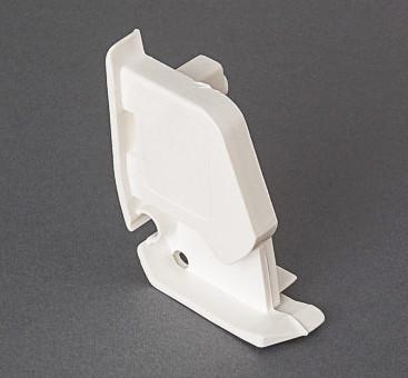 Fiamma F45 Plus - Right Hand Pelmet Cap White