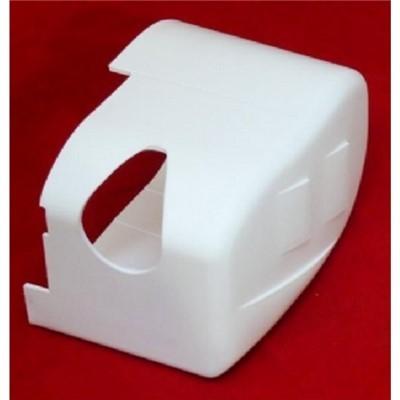 Fiamma F55 Pro Right Hand End Cap - White