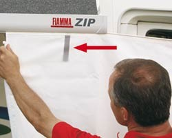 Fiamma ZIP Privacy Room (Safari) for ZIP Awnings