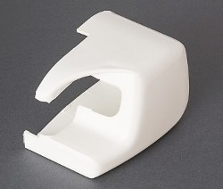 Fiamma F45 Plus - Right Hand Outer End Cap White
