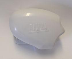 Fiamma Left Hand End Cover F65 Polar White