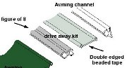 Drive-away Awning Connection Kit - 6mm to 4mm
