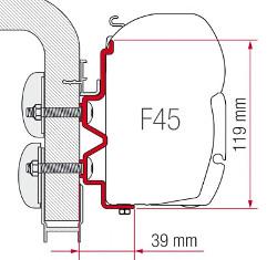 Fiamma Adapter F45 Hymercamp 300