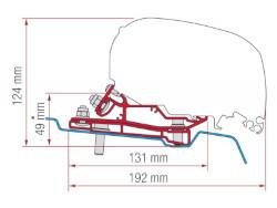 Fiamma Adapter Kit F80 Ford Transit H3 L4