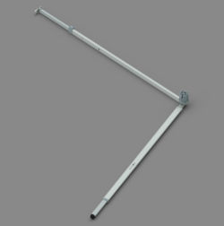 Fiamma CS ZIP XL Leg & Rafter Assembly - 360 to 550 Right