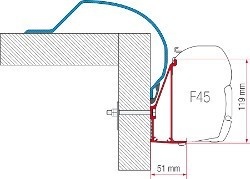 Fiamma Adapter Arca 400