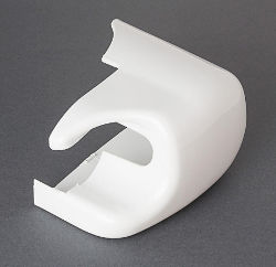 Fiamma F45i - Right Hand Outer End Cap White