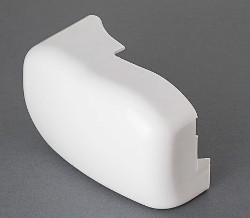 Fiamma F45 iL - Left Hand Outer End Cap White