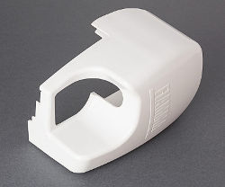 Fiamma F45 Ti L Right Hand End Cap - White
