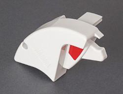 Fiamma F65 S Right Hand Lead Bar End Cap - Polar White